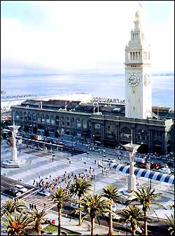 Ferry Building Plaza