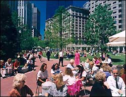 Post Office Square park