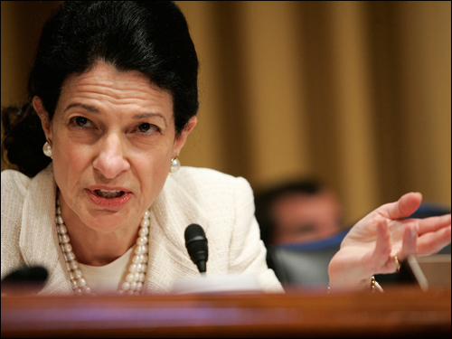 Olympia Snowe, Maine senator Senator Snowe said in a statement on July 10 that as conditions in Iraq continue to worsen, 'there must be no question among the [Bush] administration, the Congress, and the Iraqi unity government that staying the course is neither an option nor a plan.'