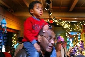 Grandfather Questions Dad's Discipline