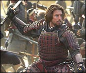"Tom Cruise in ""The Last Samurai"""