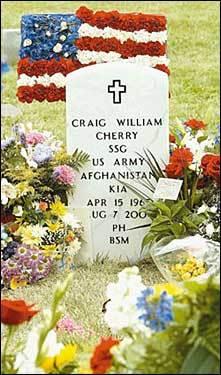 Staff Sergeant Craig Cherry, 39, Winchester, Va.