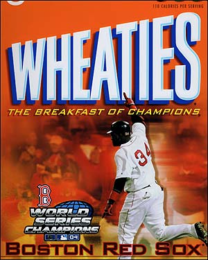After the game a new Wheaties box featuring David Ortiz was unveiled.