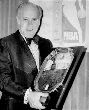 At the NBA's Silver Anniversary banquet in 1971, Red was honored as the best coach in the quarter-century of the league.
