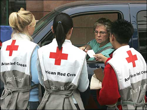 red cross donor