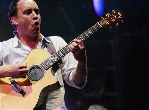 The Dave Matthews Band (shown here) will join the Viacom multi-artist, multi-city concert special on Sept. 10, and also perform at a benefit concert on Sept. 12 at Red Rocks Amphitheater in Denver.
