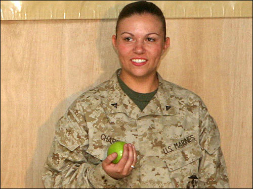 Lance Corporal Holly A. Charette, 21, Cranston, R.I.