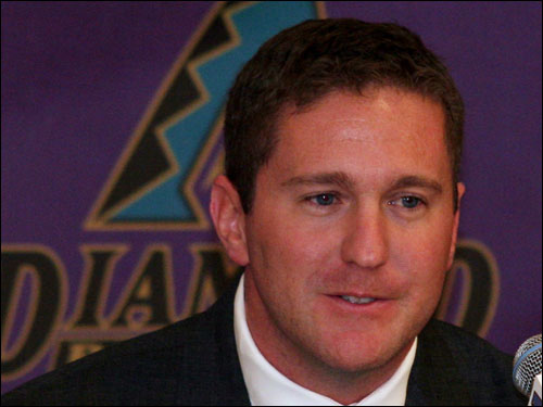 Josh Byrnes, former assistant GM of the Red Sox, was named general manager of the Arizona Diamondbacks.