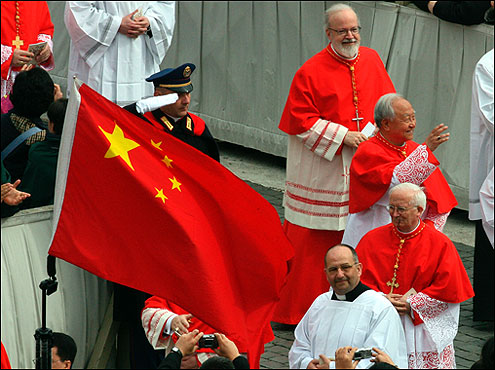 O'Malley, top right, was one of two Americans to join the College of Cardinals. He was installed as archbishop of Boston by Pope John Paul II in 2003, after the resignation of Cardinal Bernard Law.