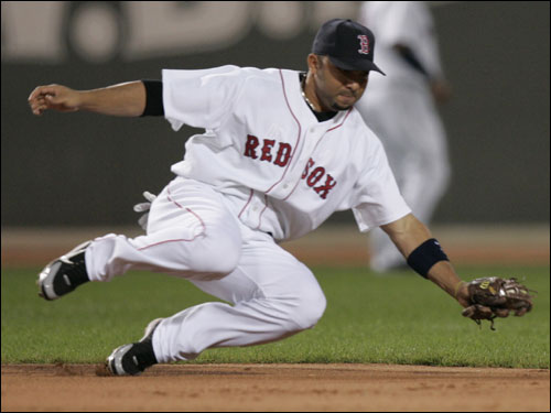 The Sox must decide this offseason whether to re-sign the slick fielding but light hitting Alex Gonzalez to play shortstop or look outside the organization to replace him.