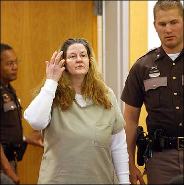 Sheila LaBarre, a New Hampshire woman known for her threatening use of guns, her sleek silver Mercedes, and her incendiary temper, was charged in April with killing a mentally impaired Wilmington, Mass., man and burning his body on her Epping horse farm. Locals say they saw other young men with LaBarre, and question where they are now. Police are still trying to find at least one of LaBarre's former boyfriends, who is missing. <img src='http://cache.boston.com/bonzai-fba/File-Based_Image_Resource/dingbat_arrow_icon.gif' alt='' title='' height='9' width='4' border='0' /> Read the story