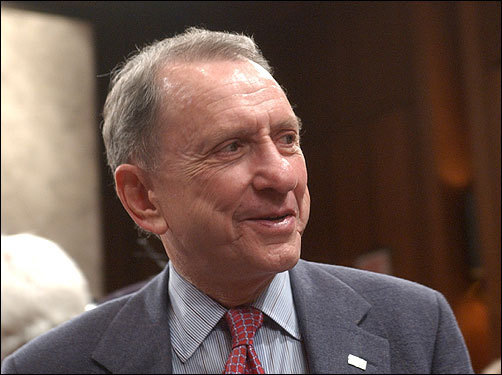 Arlen Specter, Pennsylvania senator Specter has joined Hagel and Senator Lindsey Graham of South Carolina in sharply questioning the honesty of Gonzales, the attorney general. 'We have to have an attorney general who is candid, truthful. And if we find out he has not been candid and truthful, that's a very compelling reason for him not to stay on,' Specter said on March 25.