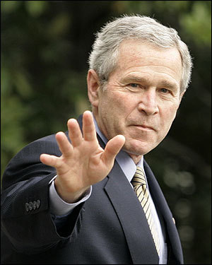 Several Republican officials have distanced themselves from the policies of George W. Bush, who recent polls show as America's most unpopular president in more than a half century. The main issues are: Bush's war on Iraq, as US casualties mount and the price tag nears $500 billion; and Bush's support for his embattled attorney general, Alberto Gonzales. Moderate Republicans have recently warned Bush that he will lose their support of the war if conditions in Iraq do not significantly improve. What do you think? Take our poll at the end of the gallery.
