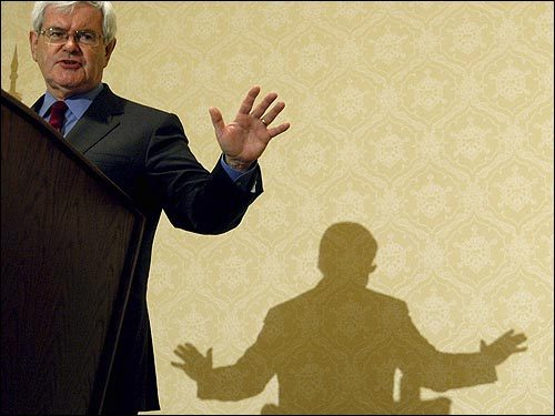 Newt Gingrich, Former House Speaker On April 8, Gingrich urged Bush to get a new attorney general to defuse the broadening Justice Department scandal. 'I think the country, in fact, would be much better served to have a new team at the Justice Department, across the board,' Gingrich said. 'I cannot imagine how he is going to be effective for the rest of this administration.''