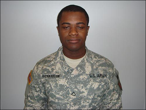 Private First Class Stephen Richardson, 22, Bridgeport, Conn.