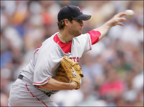 Because Wednesday's rainout in Boston forced the Sox to juggle the rotation, they'll need another Pawtucket starter to fill in Sunday against the Braves. That likely will be Gabbard, who made his major league debut last July against Seattle and has a 3-1 record with a 2.75 ERA in Pawtucket.