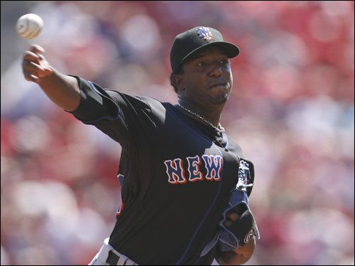 Pedro Martinez returned to the Mets for the first time this season, earning a win over the Reds. The former Sox ace earned his 3,000th career strikeout and gave up two earned runs in five innings.