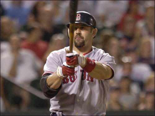 This is the one no one is talking about. The 35-year-old Jason Varitek is once again hitting a September wall. He's hitting a paltry .191 with just two extra base hit this month, and this follows back-to-back Septembers during which he hit .224 or worse. Will he turn it around in time for the playoffs?