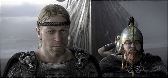 The legendary hero Beowulf gets digitized in director Robert Zemeckis's latest cinematic adventure.
