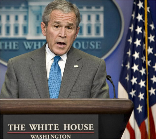 Answer: A candidate for president must be native born, and not a naturalized citizen, be at least 35 years old and have lived in the United States for at least 14 years. No, Arnold Schwarzenegger would not be eligible. Pictured here is President Bush addressing a news conference at the White House this week about his latest economic stimulus plan. 8. How many Supreme Court Justices are there?