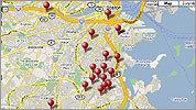 2008 Homicide Map
