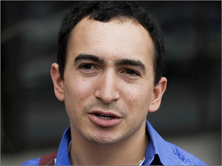 On July 31, a US district court jury ordered Boston University graduate student Joel Tenenbaum (pictured) to pay four record labels a total of $675,000 in damages for illegally downloading 30 songs and sharing them online. What music could possibly be worth this much? Click through this gallery for a look at some of the songs Tenenbaum downloaded. It's sort of like poking through a friend's iPod, albeit one that cost hundreds of thousands of dollars -- $22,500 per song -- to fill.