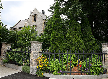 Sloan House's specifications, listed on real estate website Zillow.com, are nothing to sneeze at: 8,256 square feet, three stories, five bedrooms, eight-and-a-half bathrooms. Zillow pegs the stone mansion's worth at $5.3m; Accurint assessed it at $6 million.