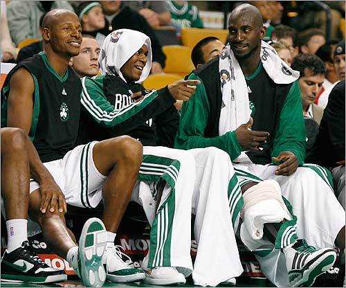 3. The Celtics They don't call us Titletown for nothing. If the Sox and Pats lose, there's always Ray Allen and Rajon Rodo....