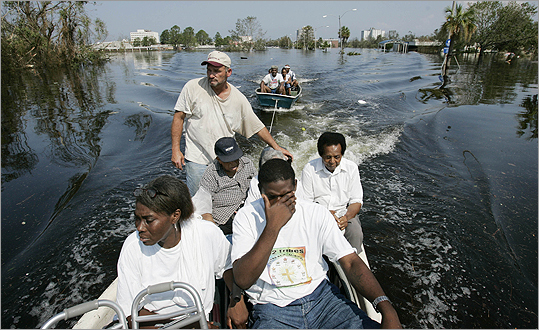 Hurricane Katrina made landfall on the Gulf Coast Aug. 29, 2005, devastating New Orleans and, as the levees failed and the darkened city flooded, plunging the city into a period of civil disorder that shocked America. Unable to provide effective help and accused of bungling relief operations, the Bush administration suffered lasting political damage. Perhaps more profoundly, America discovered the limitations of its ability to protect against natural disasters.