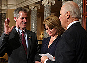 Brown sworn in