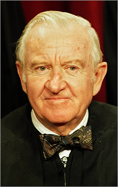 Supreme Court Justice John Paul Stevens, the leader of the court's liberal judges, has announced that he will retire this summer. His decision marks the end of his 35-year tenure, which began when President Gerald Ford nominated him in 1975. Stevens posed for his official portrait in 1999.