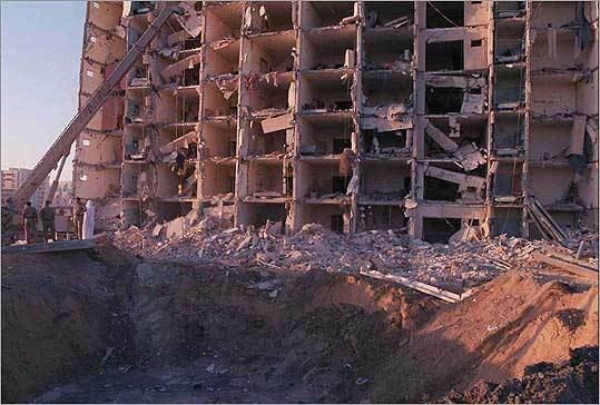 In 1996, bin Laden claimed credit for the bombing of Khobar military complex in Dhahran, Saudi Arabia. A truck bomb exploded at the US military facility, which houses US servicemen based at Abdul Aziz Air Base, killing 19 and injuring hundreds.