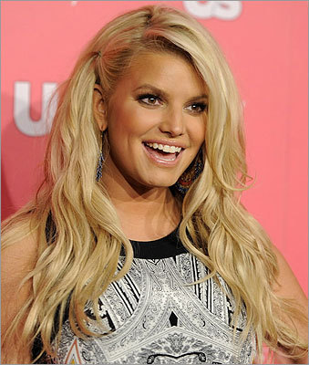 Letting go of her pure image Singer Jessica Simpson was an openly devout Christian, a girl determined to have a wholesome image. But she unveiled a new look that suggested she grew up. On the cover of her then-newly released second pop album, 'Irresistible,' she pouted at the camera as she pulled up her see-through shirt to offer a glimpse of her tummy. Story: Shedding her wholesome image
