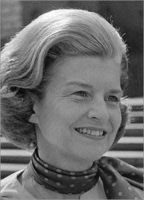 Betty Ford died Friday, July, 8 at the Eisenhower Medical Center in Rancho Mirage, according to a family friend. She was 93. The former first lady was well known for her influence on drug and alcohol rehabilitation. This August 11, 1975 photo released by CBS-TV shows first lady Betty Ford as she appeared on '60 Minutes.'
