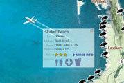 Cape and Islands Beach Map