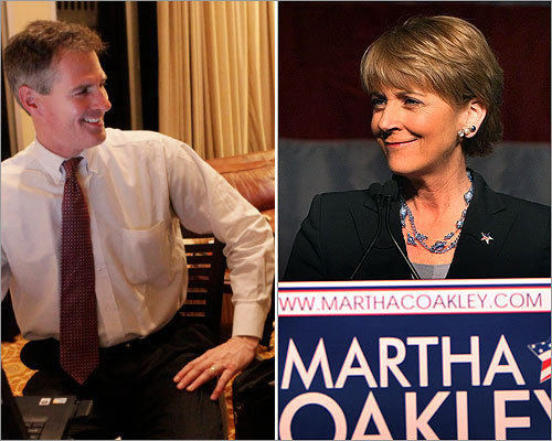 The votes are in: state Senator Scott Brown won the Republican nomination and Attorney General Martha Coakley won the Democratic nomination in the race for Edward M. Kennedy's Senate seat.