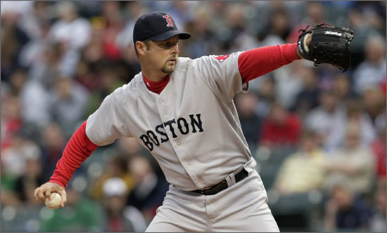 Starting pitcher Tim Wakefield penciled himself into the Red Sox history books on Tuesday, setting a team record for innings pitched, with 2,777. His trademark knuckleball has eluded many hitters over the last decade and Tuesday night was no different. Wakefield pitched 7.1 innings and the Indians only tagged him for one earned run. Wakefield earned his second win of the season.