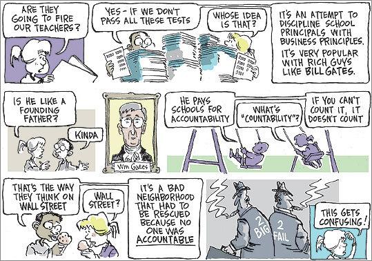 Dan Wasserman cartoon, Boston.com