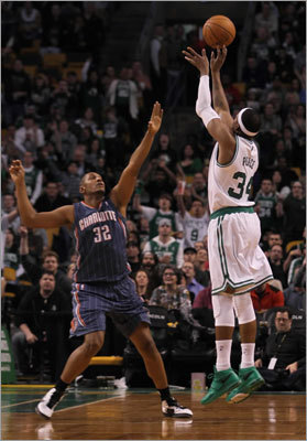 Pierce passes Bird Paul Pierce passed Larry Bird for No. 2 on the Celtics' all-time scoring list in 2012, eclipsing Bird's 21,791 points in a game against Charlotte on Feb. 7. It was a big moment for Pierce, who took a step toward more complete recognition as one of the all-time Celtics greats. Pierce now trails only John Havlicek, who holds the high mark among all Celtics scorers with 26,395 points.