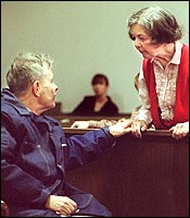 From the earliest days, John J. Geoghan and his sister, Catherine, seen in court in 2002, were constant companions.