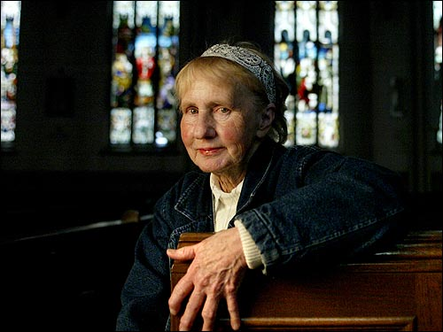 "Irene ""Bobby"" Seale, 75, parishioner for 64 years at St. Augustine's, which will close. ''It seems to me they kept the three rich churches open. I thought we were treated very shabby, and I feel the archbishop ignored us. I think he's so unfair. What good is it to appeal to him if he doesn't come see us? I have friends who say they're not going to go to church anymore, that they'll just watch it on television. We're being punished because of the priests that sinned. I'll never go to an archdiocese church again.''"