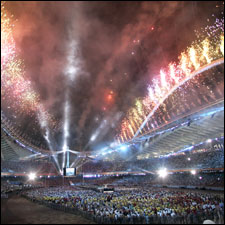 Olympic closing ceremonies