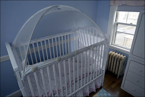 Crib tent. When Madeline was 20 months old she tried climbing out of her & Boston.com / Your Life / Family / One familyu0027s safety strategies