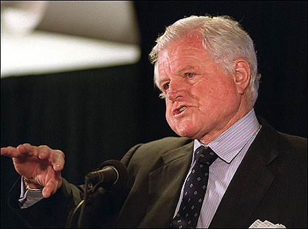 Edward M. Kennedy, who has been a US senator since 1962, plans to raise $3.5 million to support an oral history project at the University of Virginia covering his years in the Senate.