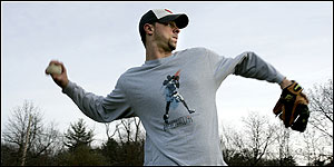 Peabody ballplayer Jeff Allison is hopeful as he battles back from drug addiction.