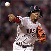 PEDRO MARTINEZ A firm place in Red Sox history