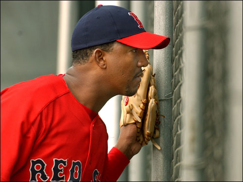 After numerous threats from Martinez that he would never re-sign with the team if it did not pick up his $17 million option for 2004, the Red Sox picked up the option.