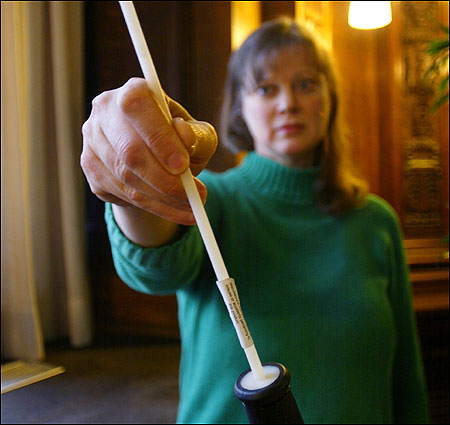 Susan Lawrence is pressing US authorities to ban sales of The Rod, a $5 whipping tool.