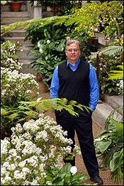 A perk for Gardner curator of landscape Patrick Chasse is that he gets to walk in the museum's interior courtyard, closed to visitors since at least 1924.