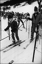 North Andover's Boston Hill, shown here in 1983, is one of many ski areas that have closed.